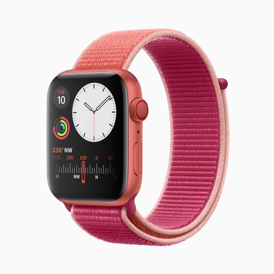 kırmızı apple watch