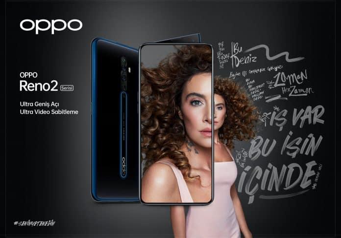 oppo reno 2 serisi sıla reklamı
