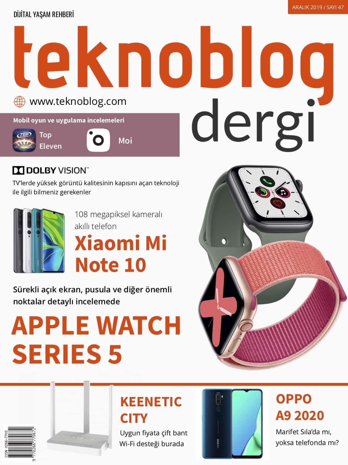 teknoblog dergi aralık 2019 sayı 47