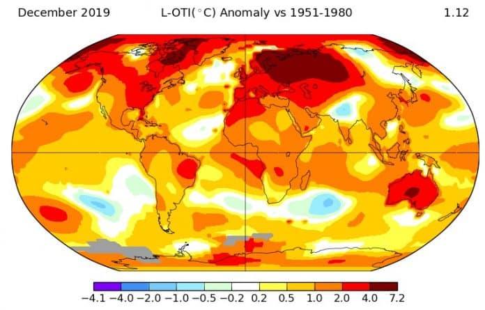 2019 sıcaklık haritası