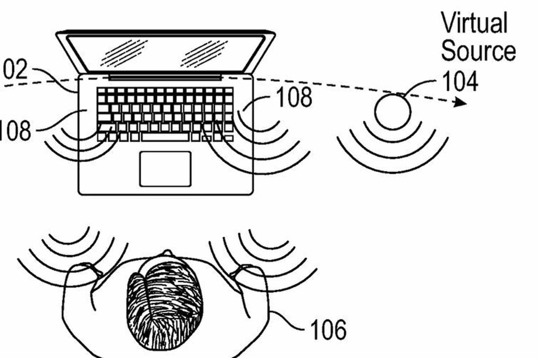 apple sanal hoparlör patent