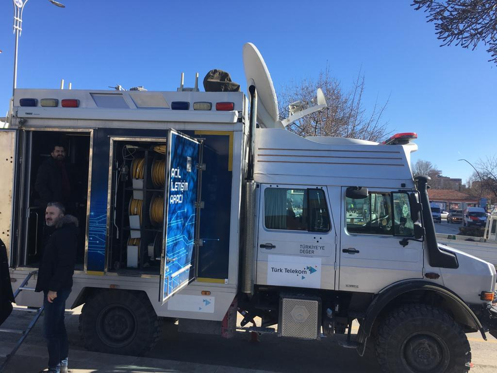 türk telekom elazığ depremi