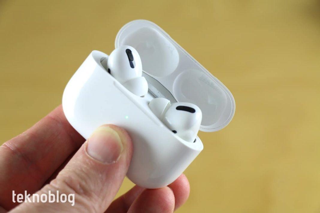 Apple AirPods Pro İncelemesi kablosuz kulaklık