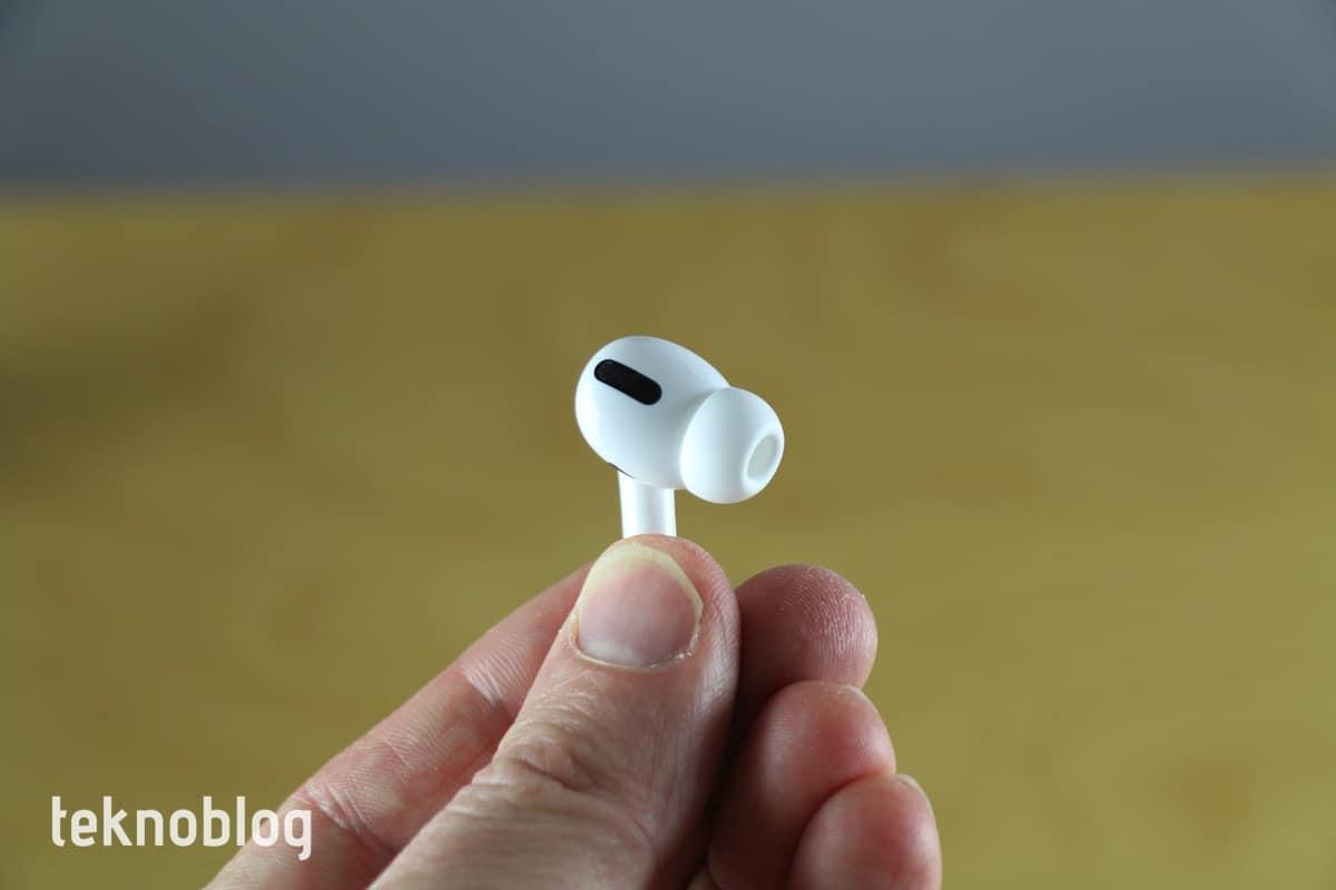apple music kayıpsız ses airpods pro