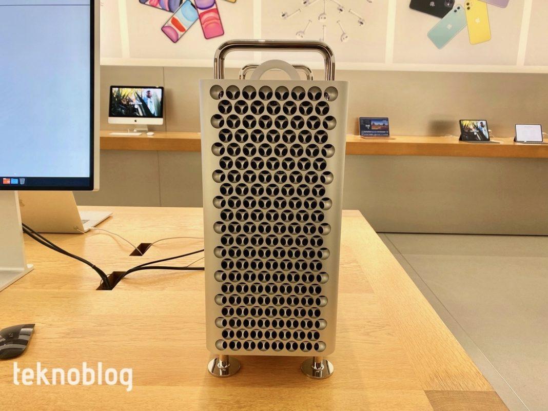 Apple'ın bilgisayarı Mac Pro'nun performans sınırı görüldü