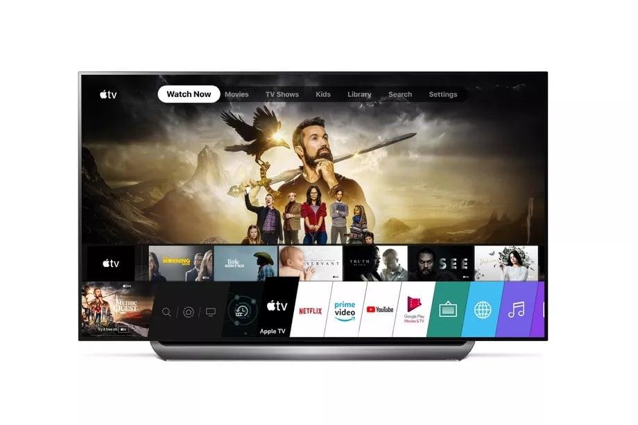 apple tv uygulama lg smart tv