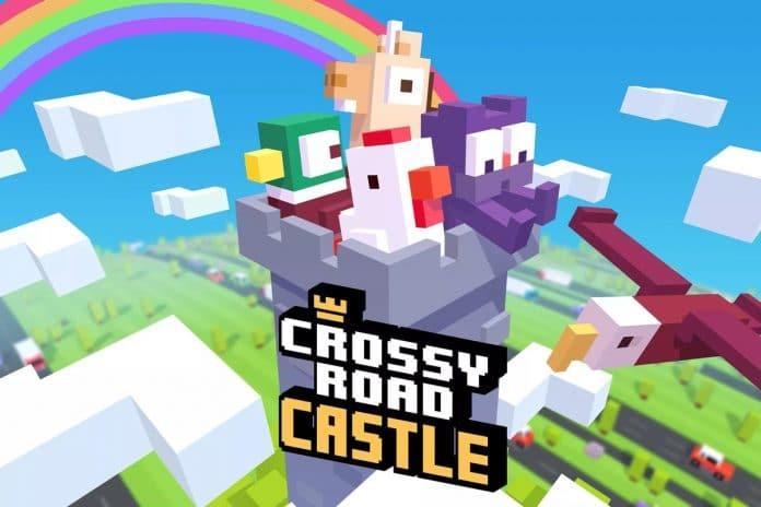 crossy road castle apple arcade