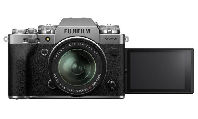 Fujifilm X-T4 aynasız kamera gövde içi sabitleme özelliğiyle geldi