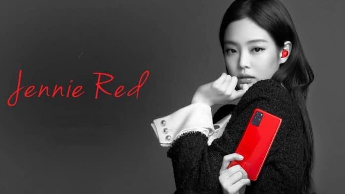 galaxy s20+ jennie red