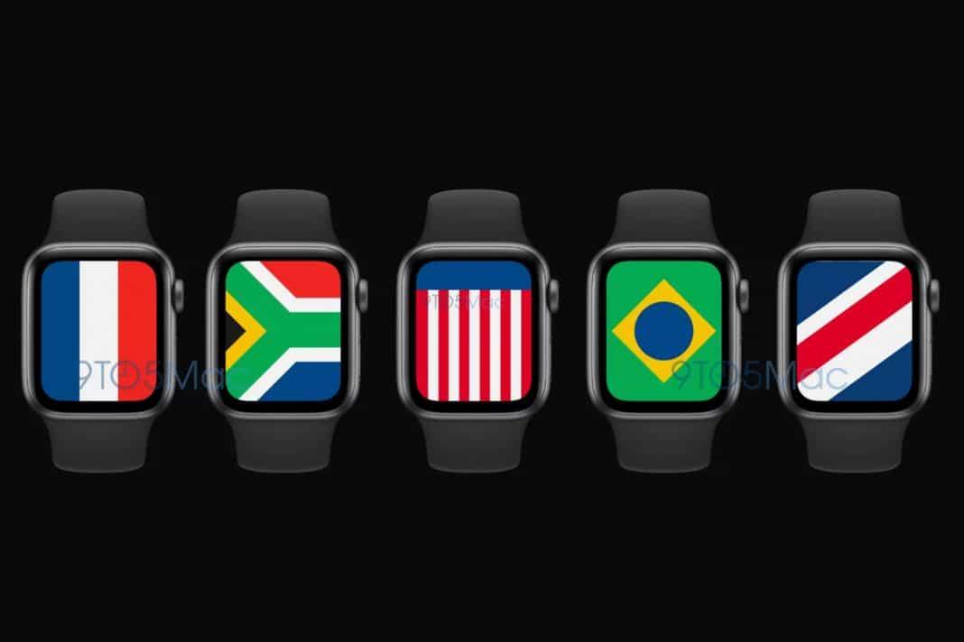 apple watch watchos 7 saat kadranı