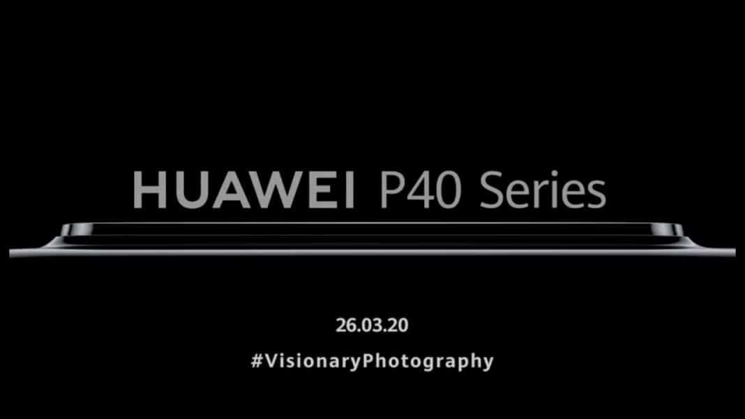 huawei p40 serisi tanıtım