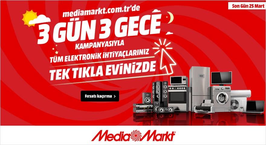 mediamarkt 3 gün 3 gece kampanyası