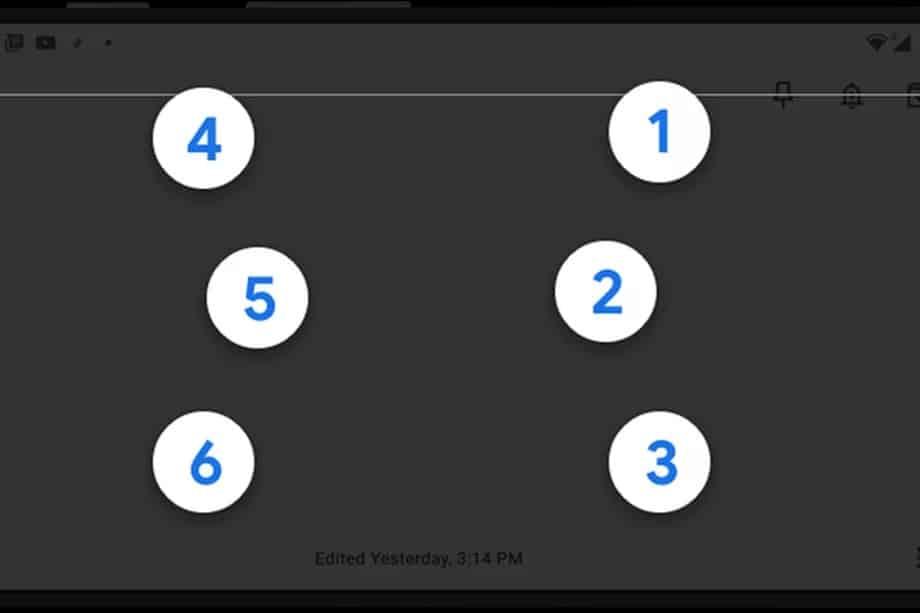 android braille klavye