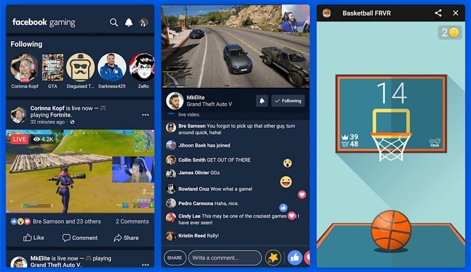 facebook gaming oyun