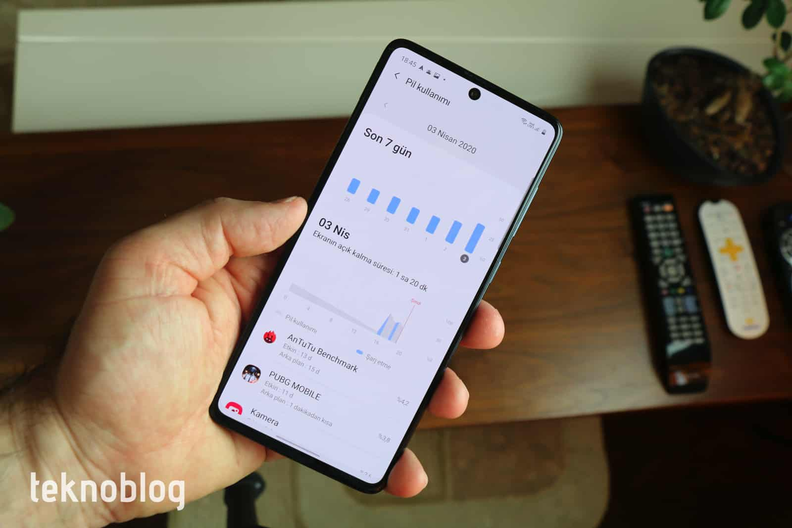 Samsung Galaxy A71 İncelemesi 7