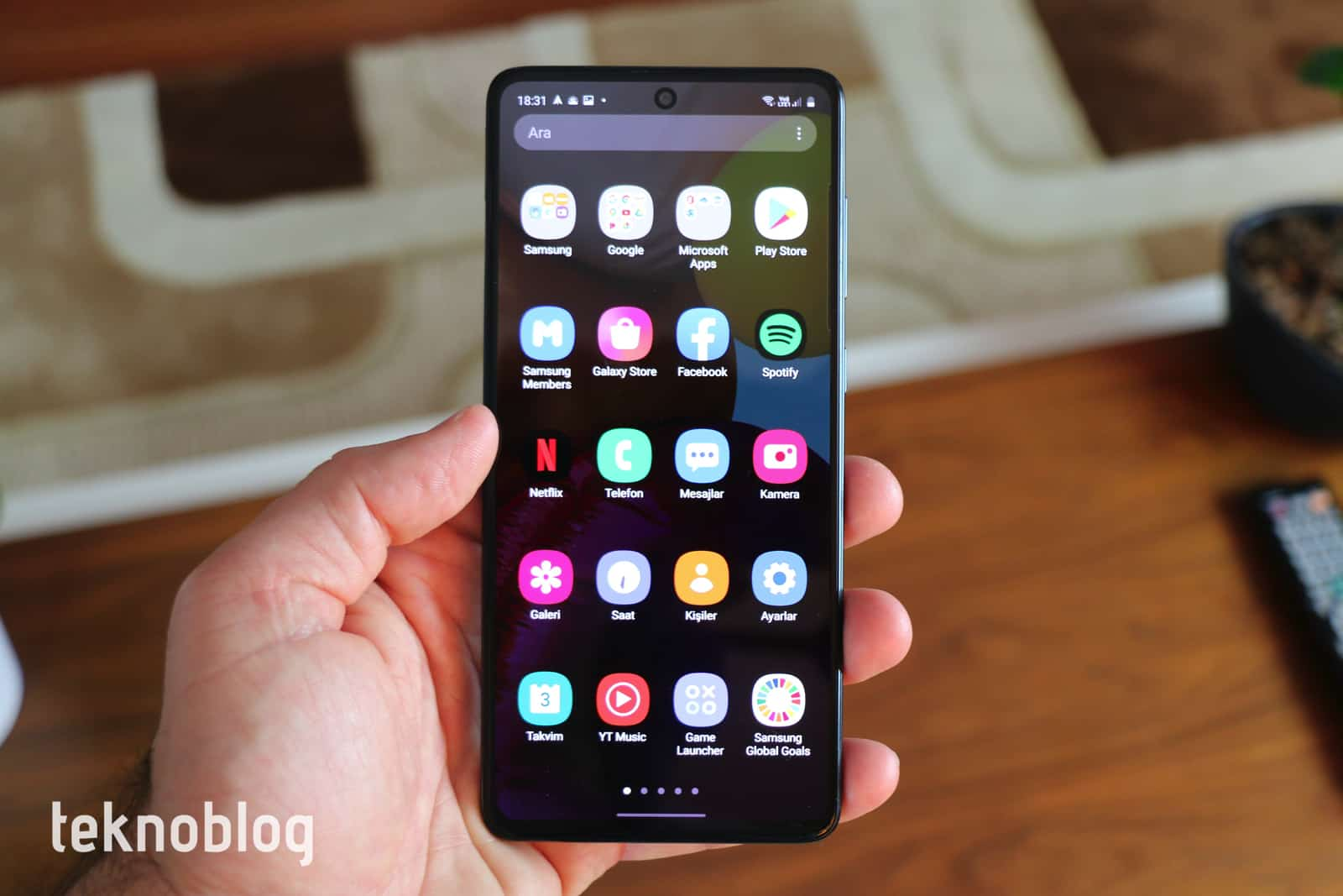 Samsung Galaxy A71 İncelemesi 8