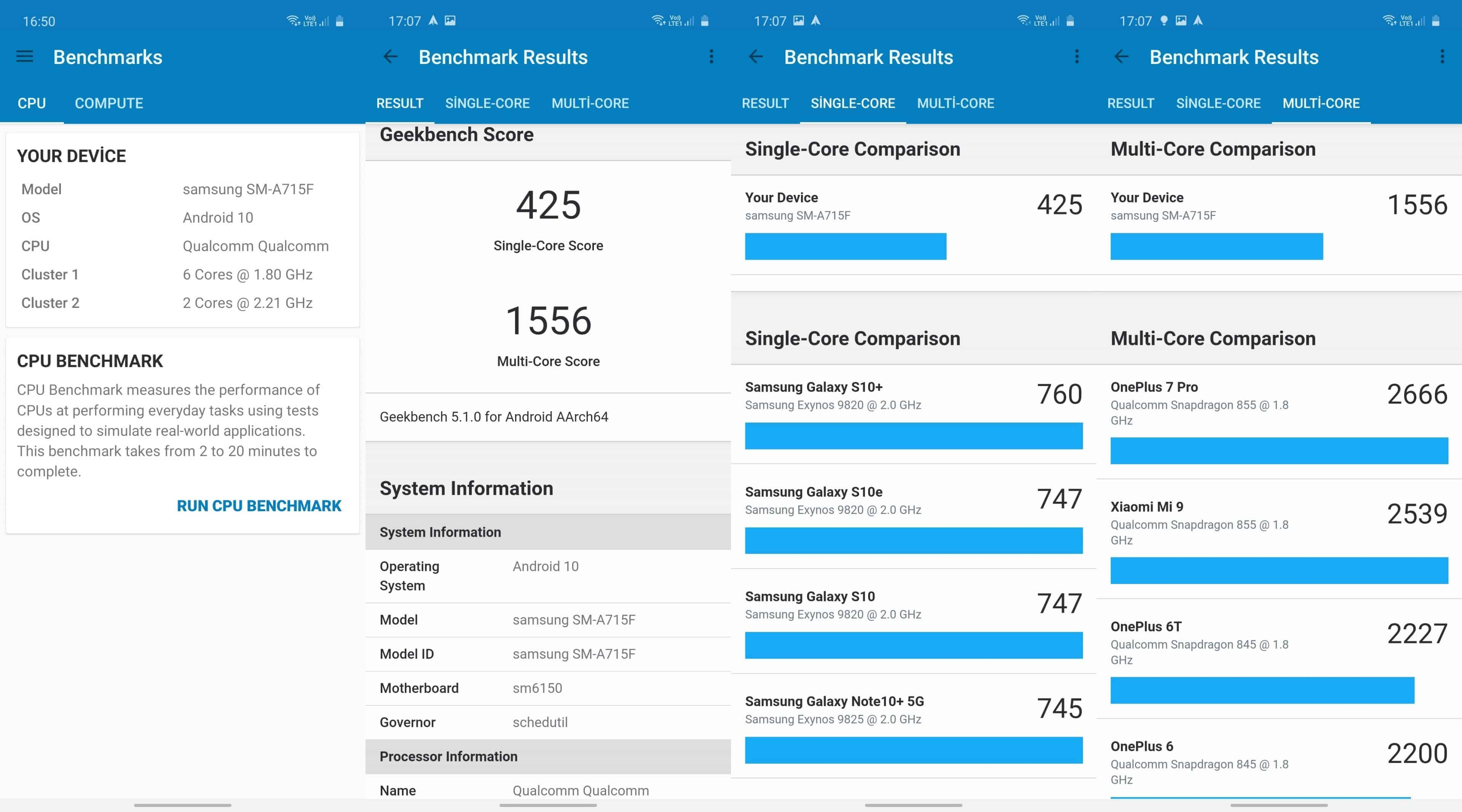 Samsung Galaxy A71 İncelemesi 6