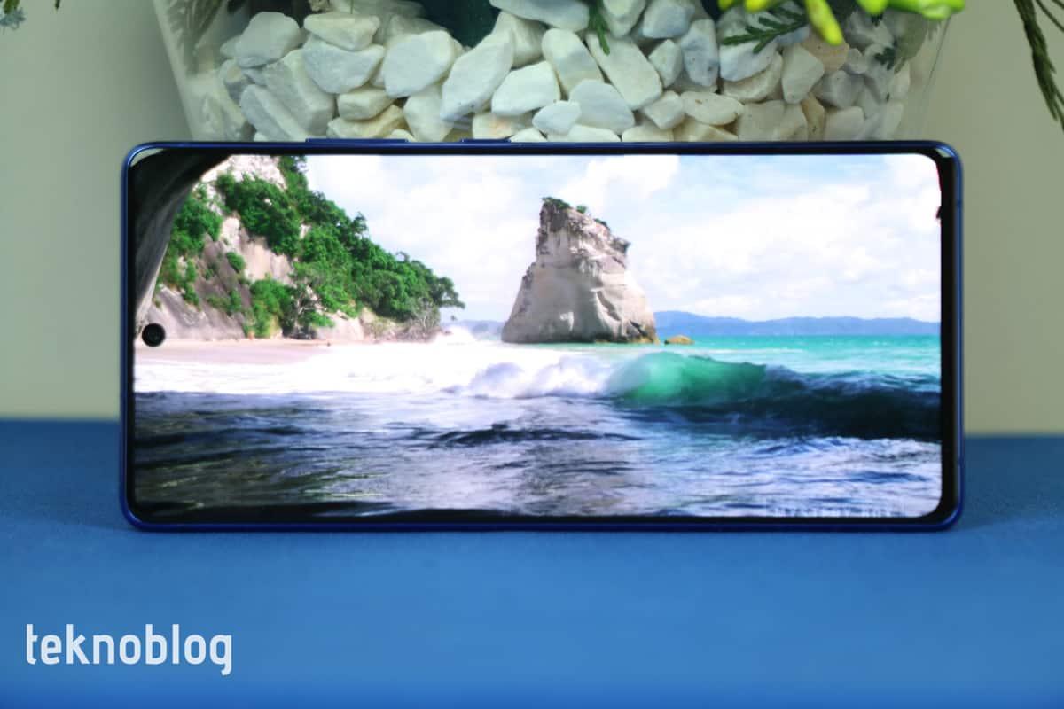 Samsung Galaxy S10 Lite İncelemesi 4
