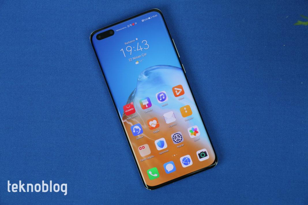 huawei p40 serisi güncelleme akıllı telefon
