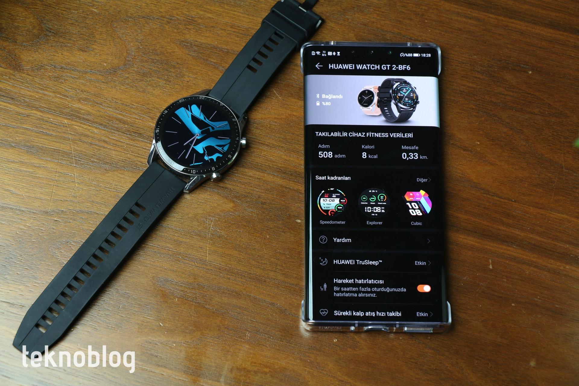 Huawei Watch GT 2 İncelemesi 7