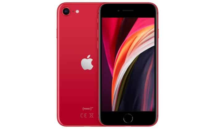 iphone se product red