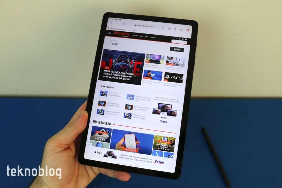 Samsung Galaxy Tab S6 Lite İncelemesi S7