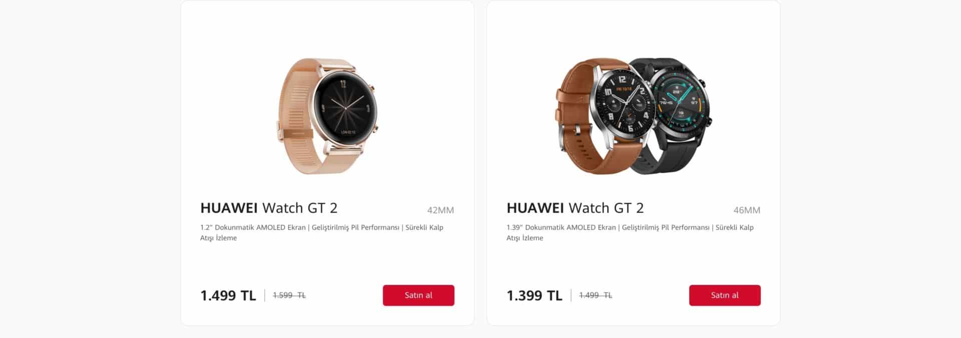 huawei watch gt 2 satın al