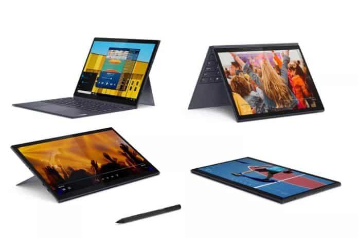 Lenovo'dan çıkarılabilir klavyeli Yoga Duet 7i ve IdeaPad Duet 3i