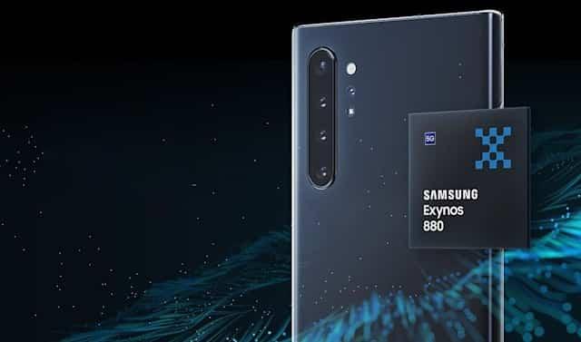 Samsung yapımı Exynos 880 orta segment telefonlarda yer alacak