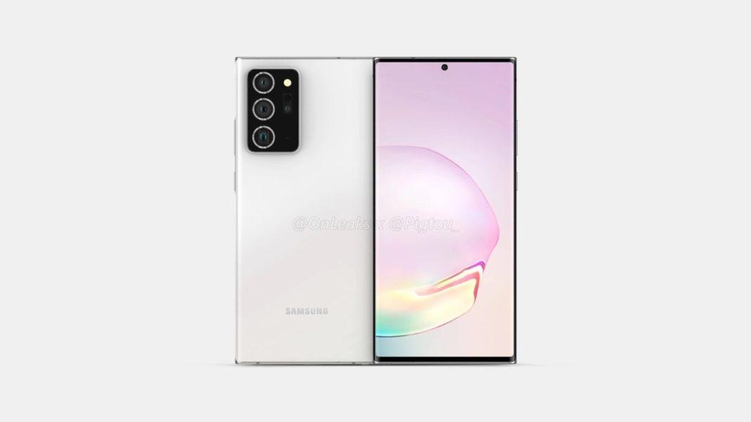 Galaxy Note 20 Plus sızıntı