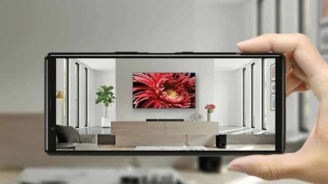 sony envision tv ar