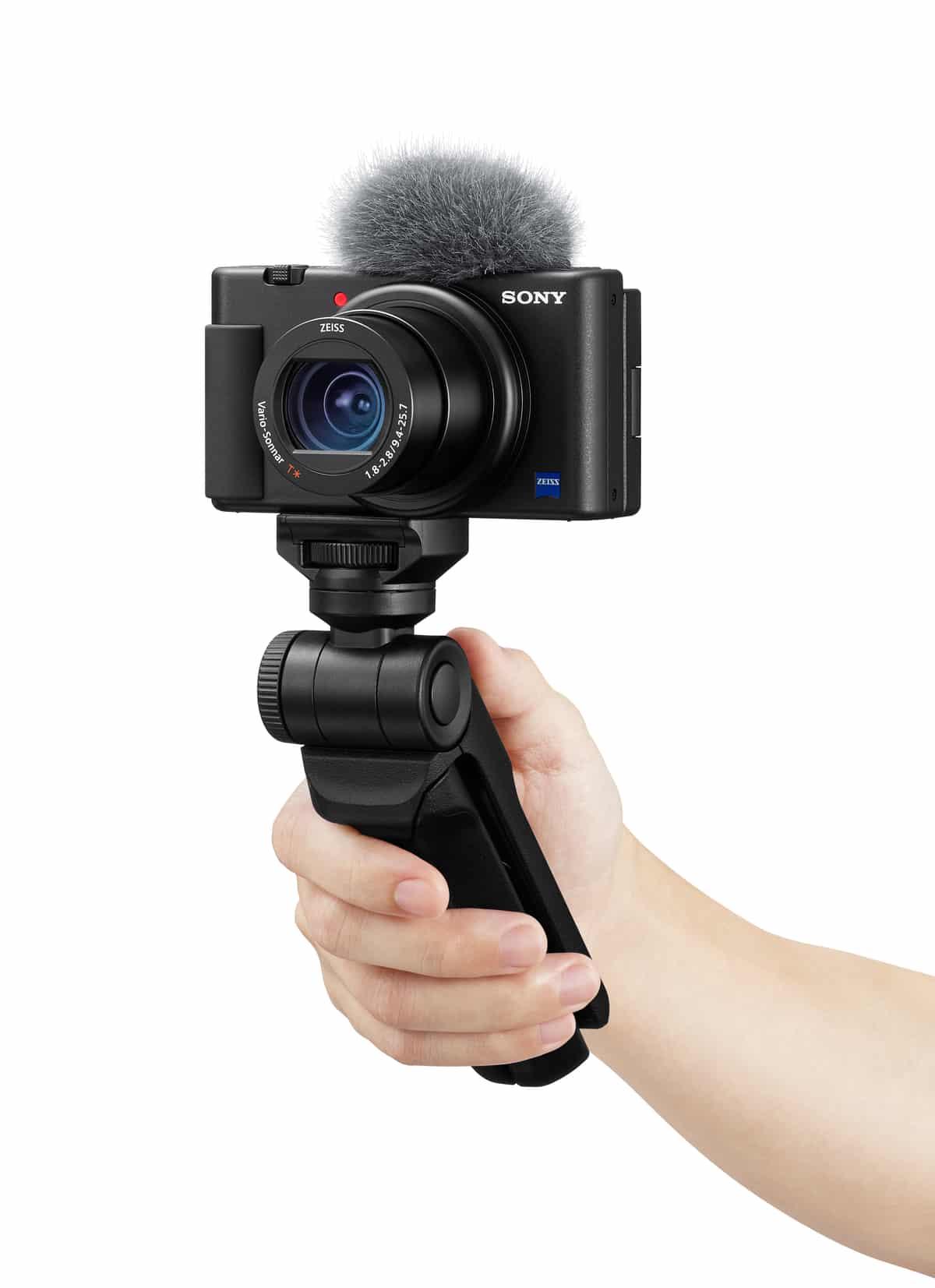 Video günlük çekenler için Sony ZV-1 vlog kamerası tanıtıldı