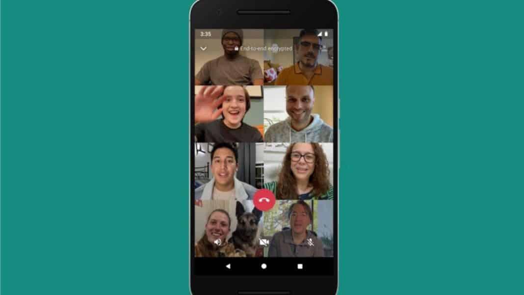 whatsapp grup video