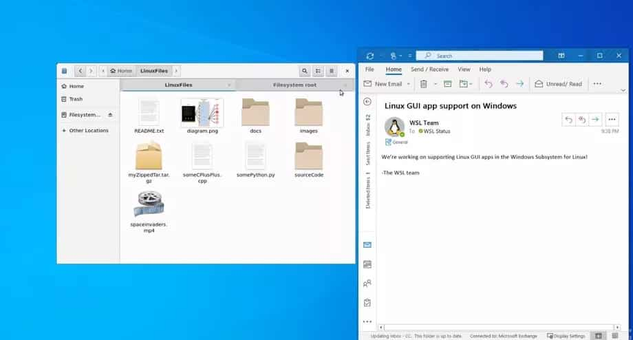 windows linux gui