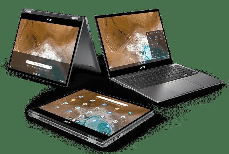 Acer Chromebook Spin 713 dönüştürülebilir 2K ekranlı ve Project Athena tabanlı