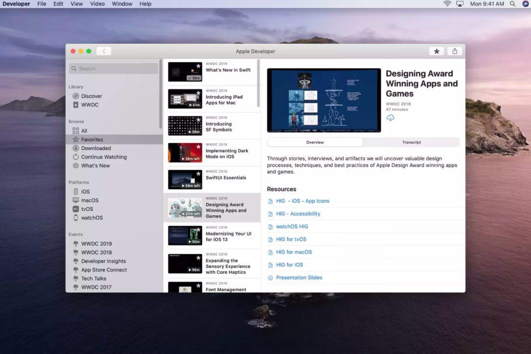 Apple WWDC 2020'nin öncesinde Developer uyguk