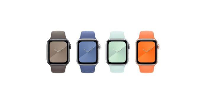 Apple yeni Apple Watch kordonu ve iPhone 11 kılıflarıyla yazı karşılıyor