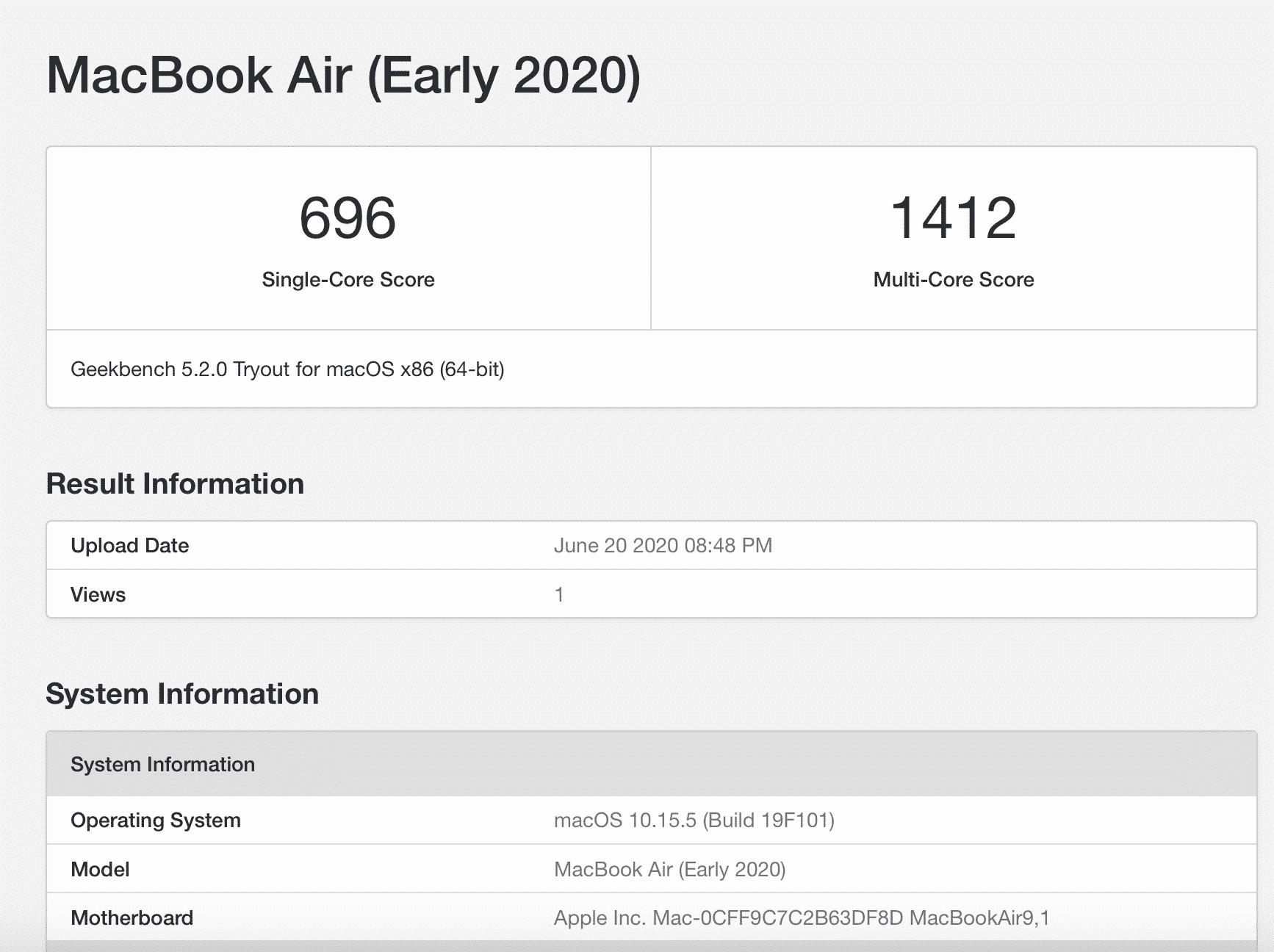 MacBook Air 2020 İncelemesi