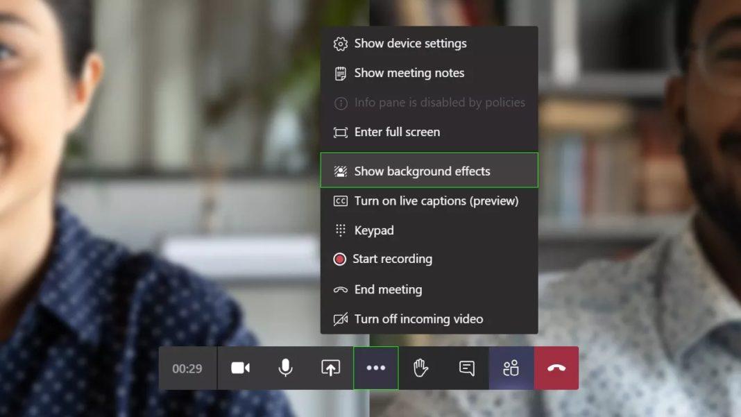 Microsoft Teams görüşmelerine kendi fotoğraflarınızı ekleyebilirsiniz