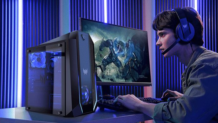 أجهزة كمبيوتر مكتبية وشاشات وملحقات جديدة لمجموعة Acer Predator المخصصة للاعبين
