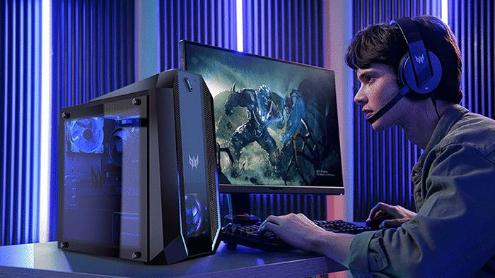 Oyunculara özel Acer Predator serisine yeni masaüstü bilgisayarlar, monitörler ve aksesuarlar