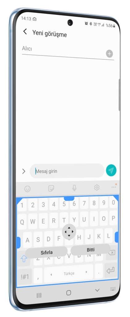 Samsung Galaxy cihazlarında klavye kullanımı ile ilgili ipuçları