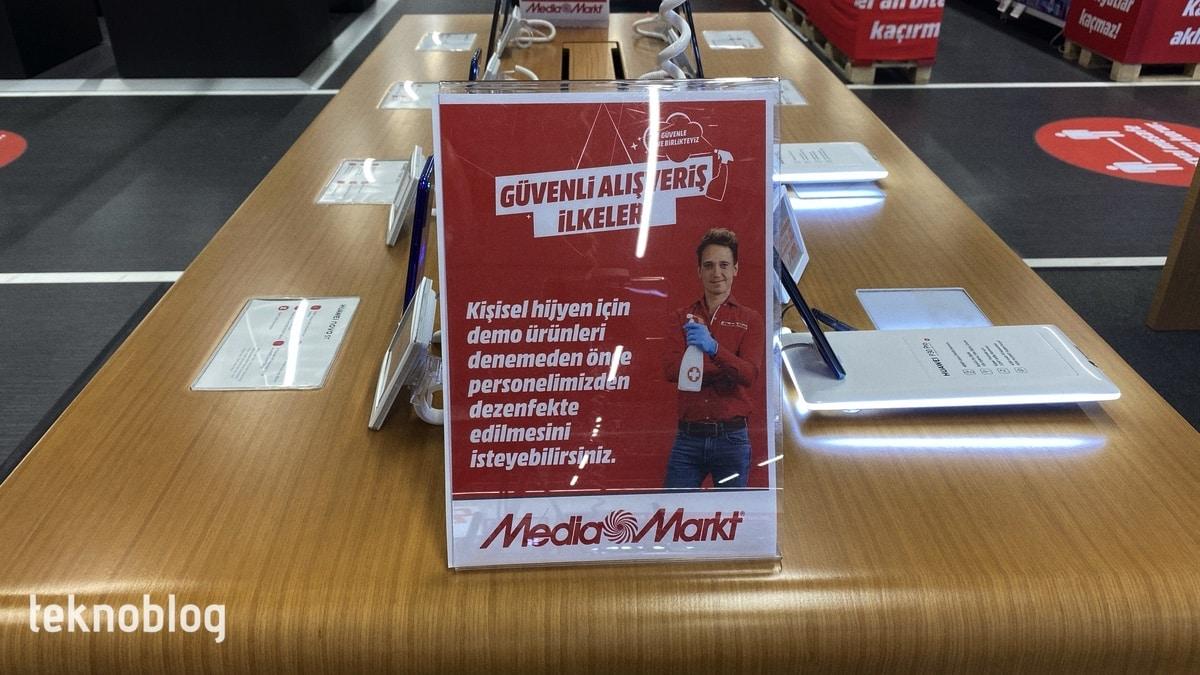 'Yeni normal'de MediaMarkt'ta alışveriş nasıl oluyor? [Video]
