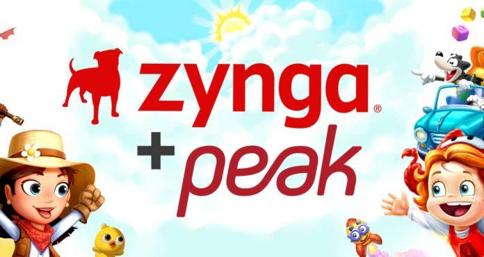 Peak ABD'li oyun devi Zynga tarafından 1.8 milyar dolara satın alınıyor