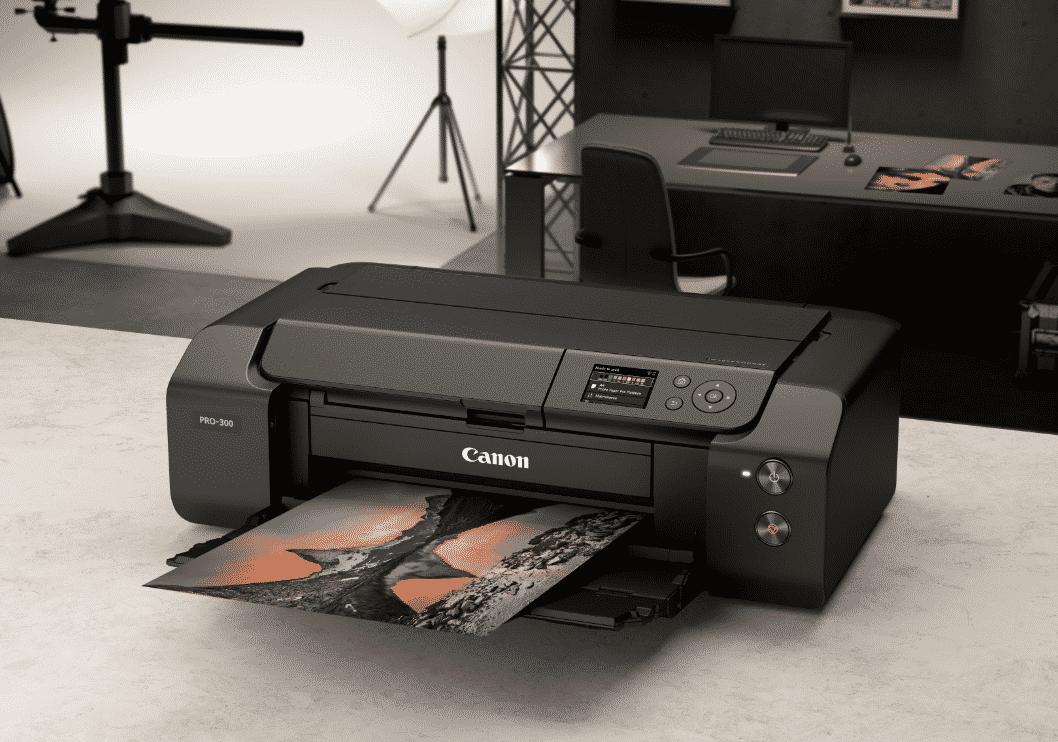 Canon imagePROGRAF PRO-300 A3+ fotoğraf yazıcısı tanıtıldı