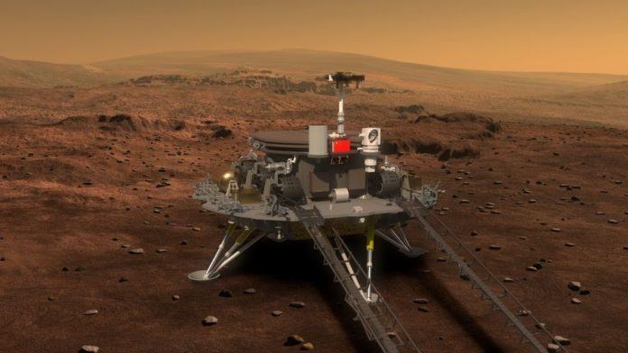 Çin'in Mars yolculuğu başladı; Tia