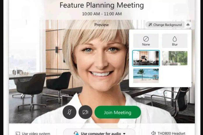 Cisco'nun Webex video konferans yazılımına sanal arka plan desteği