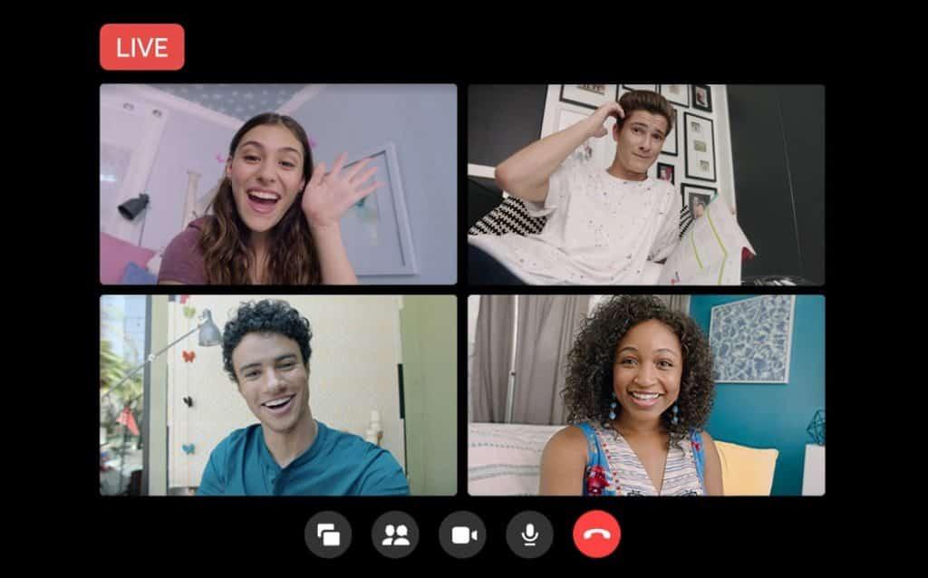 Messenger Rooms için Facebook'a canlı yayın özelliği geldi