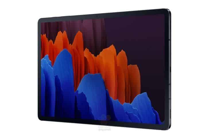 Samsung Galaxy Tab S7 serisini tüm detaylarıyla gösteren sızıntı