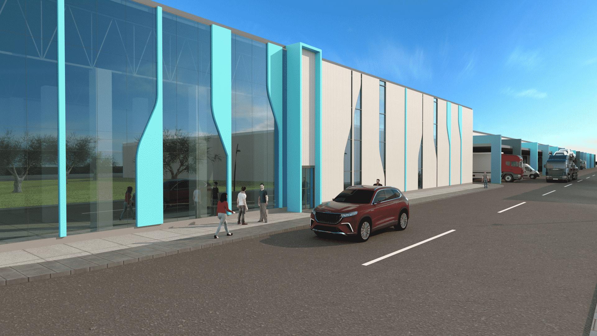 TOGG'un Gemlik üretim tesisi inşaatı başladı [Galeri]